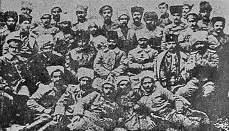 Defense of Van (1915) - General Andranik and Armenak Yekarian with Group of Defenders of Van