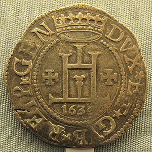 Giovanni Doria - Image: Genova, scudo di giovanni stefano doria, 1634