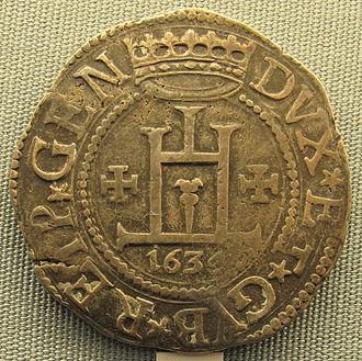 Giovanni Doria (bishop) - Image: Genova, scudo di giovanni stefano doria, 1634