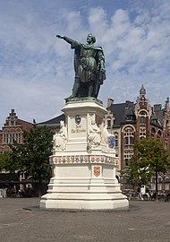 Gent, standbeeld van Jacob van Artevelde IMG 0742 2021-08-15 13.59.jpg