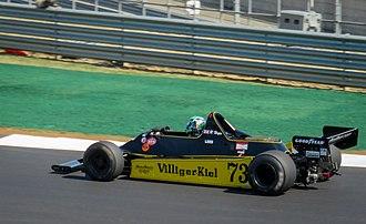 Geoff Lees (racing driver) - Image: Geoff Lees Shadow DN11 2018 British Grand Prix (29871053688)