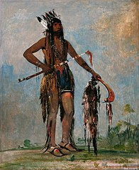 Ka-bés-hunk, He Who Travels Everywhere, a Warrior