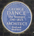George Dance plaque.jpg