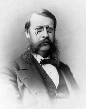 George Frederick Barker - Photo of Barker by Frederick Gutekunst