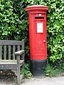 George VI pillar box - geograph.org.uk - 806280.jpg