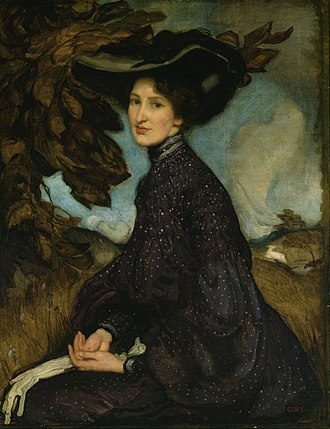 George Washington Lambert - Miss Thea Proctor