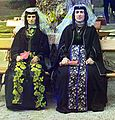 Georgian women on holiday in Borjomi cropped.jpg