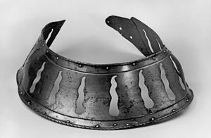 Barding - Peytral with decorative openings, early 16th century, Germany