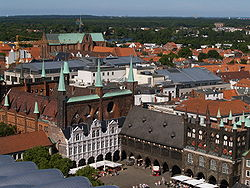 Germany Luebeck townhall.JPG