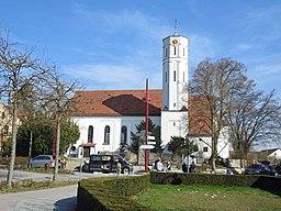 Kirchplatz in Gersthofen