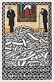 Gespräch eines Redakheurs mit einem Staatsmann (Editor& -39;s Conservation with a Statesman) (1907) print in high resolution by Moriz Jung. Original from the MET Museum. Digitally enhanced by rawpixel.jpg