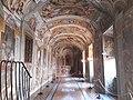 Gesu Church, corridor to St Ignatius' rooms, Rome (42865974115).jpg