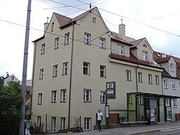 Gieseckestraße in Augsburg