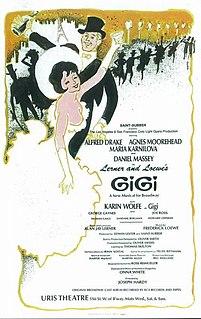 <i>Gigi</i> (musical) musical