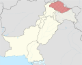 Gilgit-Baltistan in Pakistan (de-facto + Glacier) (disputed hatched) (claims hatched).svg