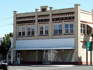 National Register of Historic Places listings in Morrow County, Oregon - Image: Gilliam and Bisbee Building Heppner Oregon