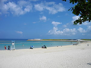 Ginowan, Okinawa - Ginowan Tropical Beach