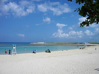 Ginowan, Okinawa - Ginowan Tropical Beach