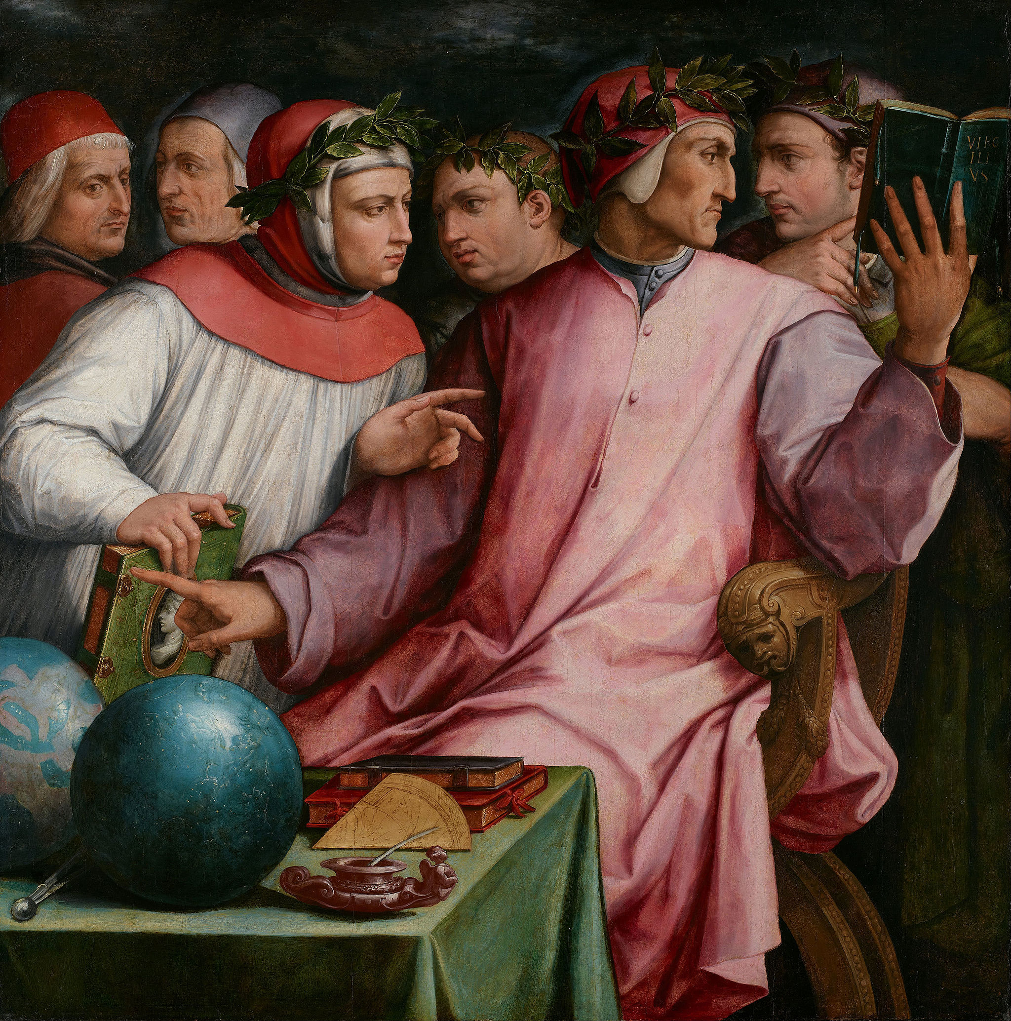 Giorgio Vasari - Six Tuscan Poets - Google Art Project