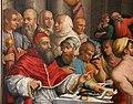Giorgio vasari, cena in casa di san gregorio magno, 1540, da s. giovanni in bosco, 04.jpg