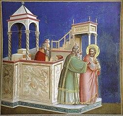 Joachim chassé du temple, pour stérilité du couple