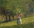 Girl with Hay Rake by Winslow Homer, 1878.png
