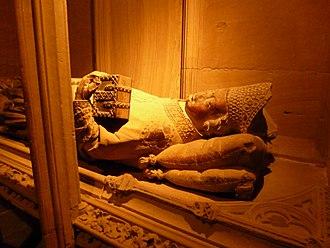 Conrad of Lichtenberg - Tombstone of Conrad of Lichtenberg
