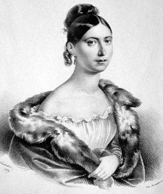 Fausta (opera) - Giuditta Pasta, by Kriehuber