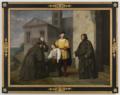 Giustiniano Degli Avancini – Cristoforo Colombo con suo figlio Diego al convento della Rábida.tiff