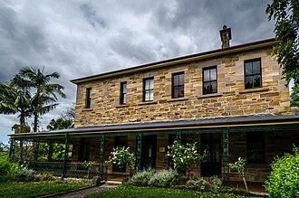 Gladesville Mental Hospital - The Medical Superintendent's Residence of the former hospital
