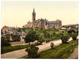 Glasgow - University of Glasgow in the 1890s