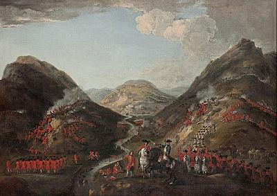 1719年6月10日のグレン・シールの戦い