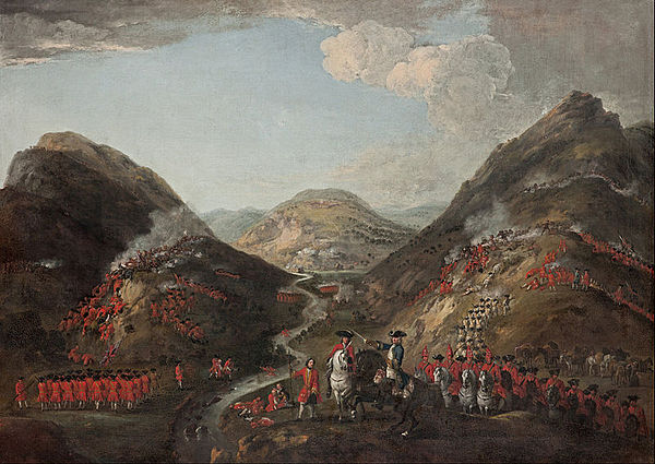 The Battle of Glenshiel 1719 Glen shiel.jpg