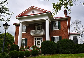National Register of Historic Places listings in Floyd County, Virginia - Image: Glenanna