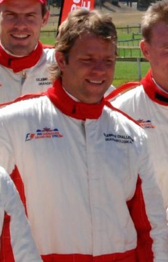 Glenn Archer - Archer as a celebrity racer at an event prior to the 2008 Australian Grand Prix.