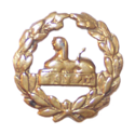 Glosters back badge circa 1957 trans