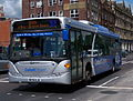 Go North East bus 5255 Scania CN230 Omnicity NK56 KJE Cobalt Clipper livery in Newcastle 9 May 2009 pic 1.jpg