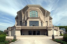 Second Goetheanum (Source: Wikimedia)