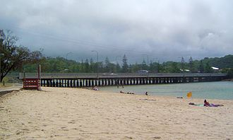 Gold Coast Highway - Bridge over Tallebudgera Creek
