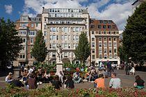 Golden Square, Soho, London - September 2006.jpg