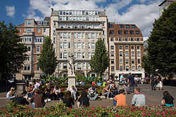 Golden Square, Soho, London - September 2006.jpg