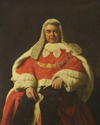 Gordon Hewart, 1st Viscount Hewart - Hewart as Lord Chief Justice, by John St Helier Lander.
