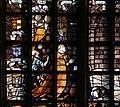 Gouda, st. janskerk, vetrata 15 battesimo di cristo, di Dirck Pietersz. Crabeth, 1555, 02 cane.jpg