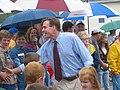 Gov. Warner at the Local 675 Covington Labor Day Parade (234949563).jpg