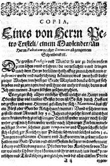 La versione tedesca del fantasioso racconto relativo al demone presente a Milano