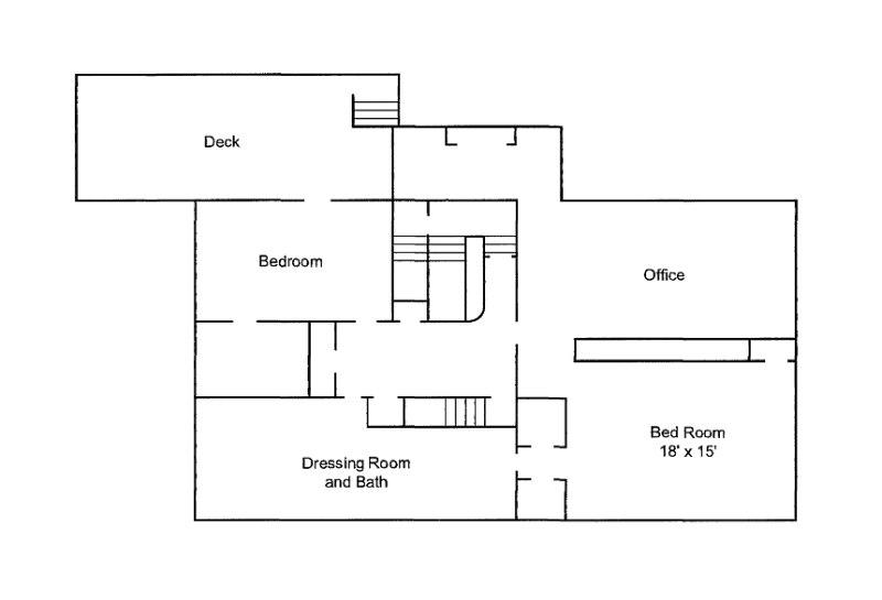 Graceland Memphis TN Floorplan 2nd Floor
