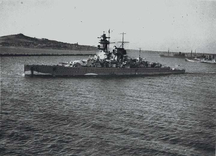 Graf Spee in Montevideo