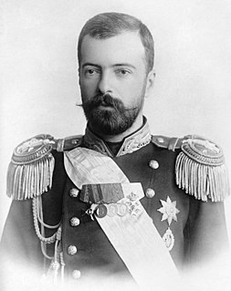 Dynast of the Russian Empire, a naval officer, an author, explorer, the brother-in-law of - and an advisor to - Emperor Nicholas II