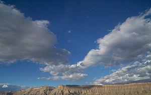 Colorado Plateau - The Book Cliffs of western Colorado.