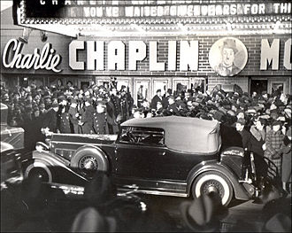 Modern Times (film) - World premiere of Modern Times (1936), New York